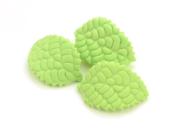 Blätter 30mm Zucker 15 Stück