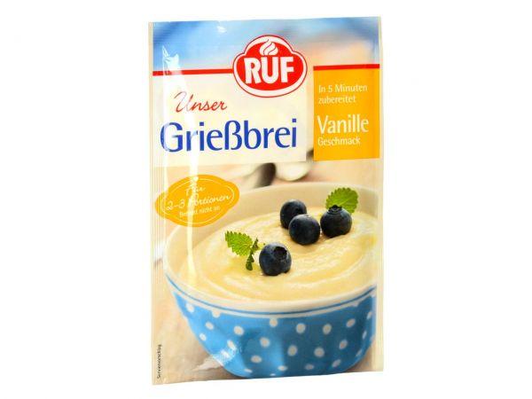 RUF Grießbrei Vanille 92g