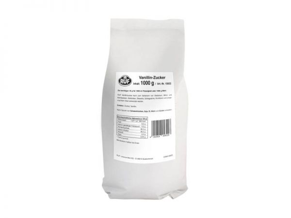 RUF Vanillin-Zucker 1,0kg Beutel