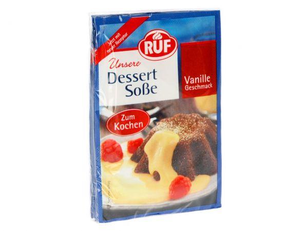 RUF Vanillesoße zum Kochen 3er Pack 3x18,5g