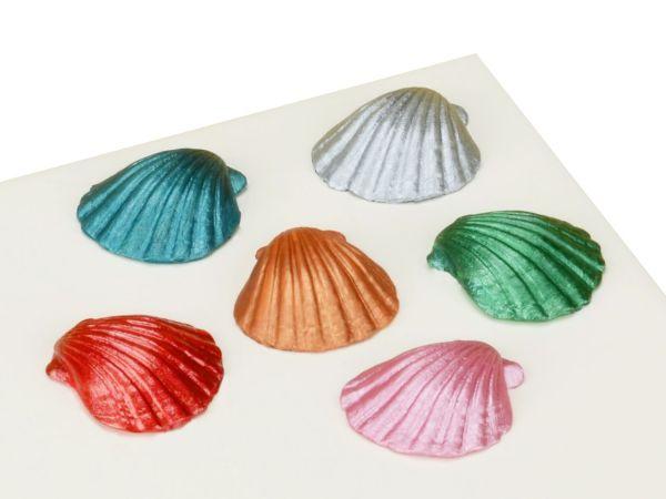 Metallic-Lebensmittelfarben-Set 6er 6x25ml