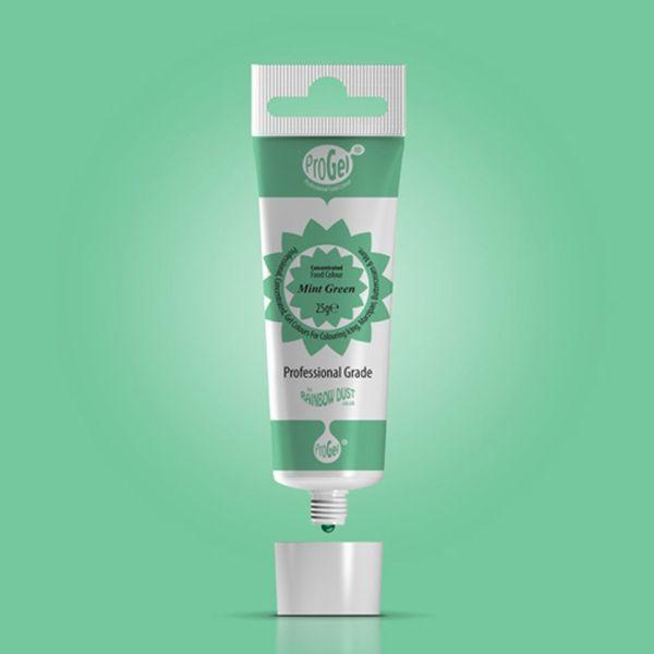 Lebensmittelfarbe ProGel Mint Green 25g