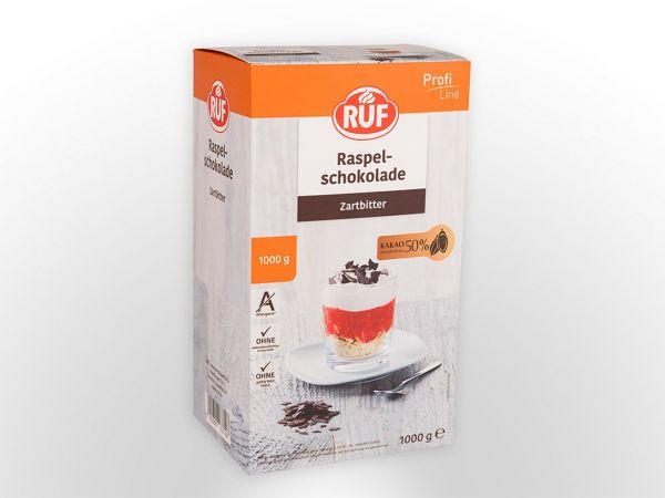 RUF Raspelschokolade Zartbitter 1,0kg