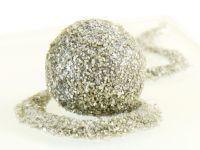 Glitzerpulver essbar silver - Silber 5g