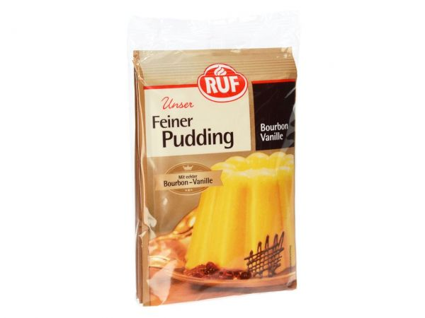 Ruf Pudding Bourbon Vanille 3er Pack 3x38g Pudding Backfun